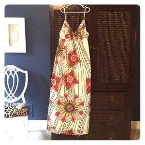 "Ann Taylor Loft "" Trulli"" Collection Maxi Dress"